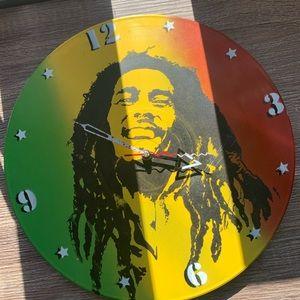 Other - Bob Marley Jamaica flag clock